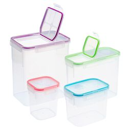 8-Pc Airtight Food Storage Box Set