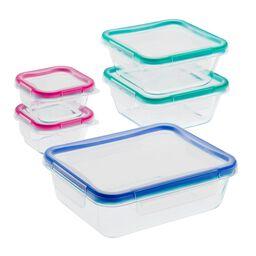 10-Pc Glass Storage Set w/ Total Solution™ Lids