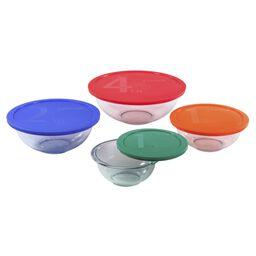 8-Pc Mixing Bowl Set w/ Color Lids