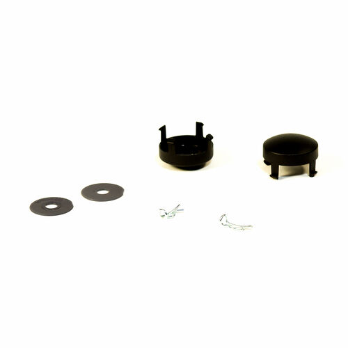 Viaro Stroller - Black Wheel Kit - Hubcap, washer, cotter pin in