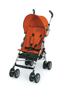 Chicco Capri Stroller in bright orange Tangerine