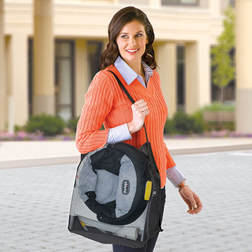 A deluxe carrying bag allows you to take the Chicco 360 Hook-On Chair with you for meals when you're on the go