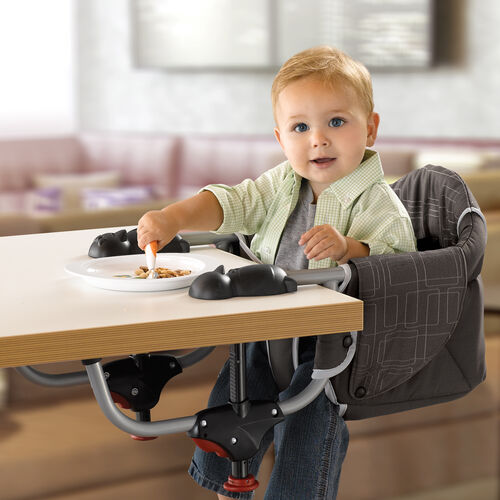 Chicco hook-on highchair attaches to your table