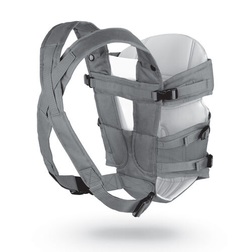 Adjustable, padded shoulder straps on the Chicco UltraSoft Carrier Vega provide a proper and comfortable fit for mom or dad