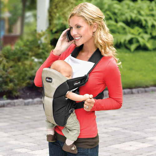The UltraSoft Baby Carrier lets you keep your hands free while keeping baby close to you
