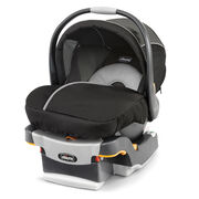 The KeyFit infant car seat carrier and base - Coal color