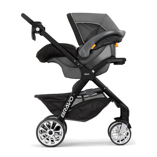 Using the Bravo LE Stroller with the KeyFit 30 Infant Car Seat