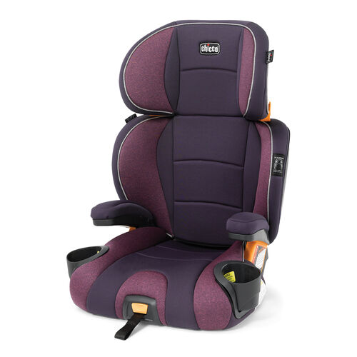 The KidFit booster car seat is heads and shoulders above the rest with DuoZone side-impact protection