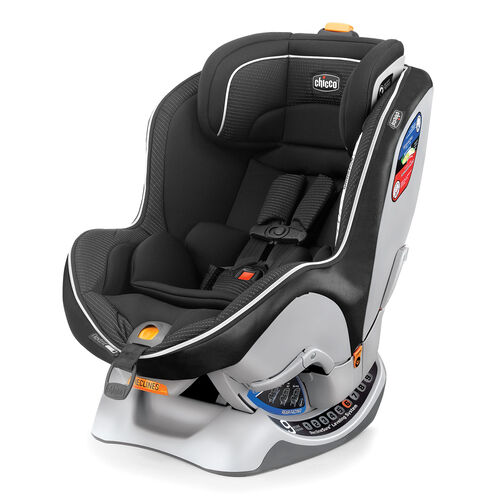 The NextFit Zip convertible car seat offers a easy to remove softgoods package for easy cleaning. The NextFit convertible car seat is approved for usage from Birth to 65lbs