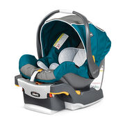 Chicco KeyFit 30 Infant Car Seat and Base in bright blue aqua Polaris style