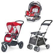 Snapdragon KeyFit 30 Car Seat + Activ3 Stroller Bundle - FREE Caddy in