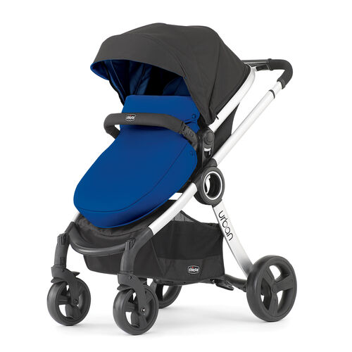 Chicco Urban 6-in-1 Modular Stroller with Blue Color Pack boot