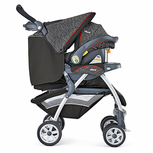 Chicco Cortina Travel System - brown and orange - Stix