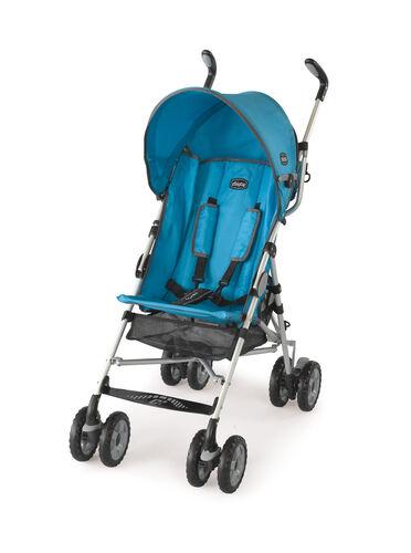 Chicco Capri Lightweight Stroller in bright blue aqua color - Topazio