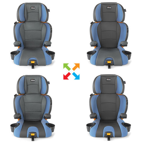 KidFit Zip 2-in-1 belt postioning booster car seat - Marina in
