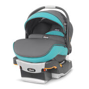 The Chicco KeyFit 30 Zip infant car seat is approved for infants 4lbs to 30lbs