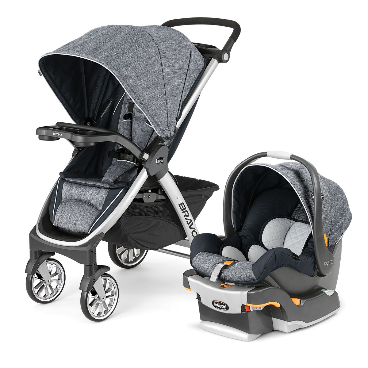 chicco chicco bravo trio travel system indigo. Black Bedroom Furniture Sets. Home Design Ideas