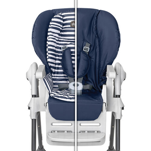 Two cushions means double the comfort for your child in the Chicco Polly Double Pad Highchair