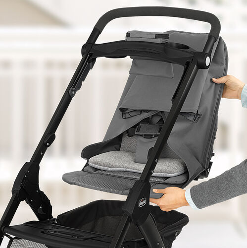 Seat is easily removed to convert to a lightweight carrier for your KeyFit 30 Infant Car Seat