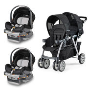 Ombra Cortina Together + 2 KeyFit Infant Car Seats Bundle - Save $150 in