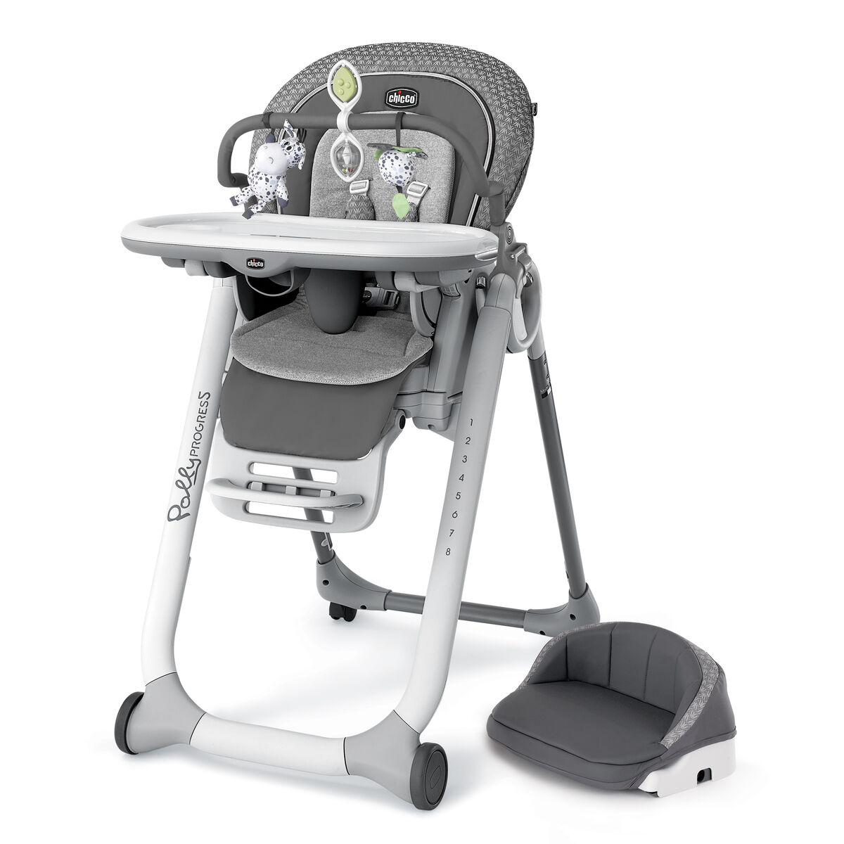 Chicco Chicco Polly Progress Relax Highchair Silhouette