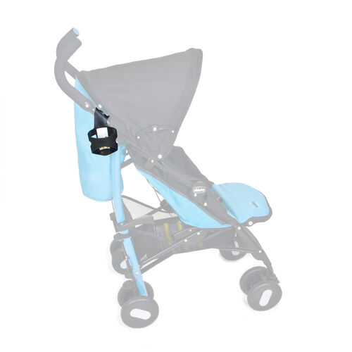Cup holder location on Chicco Echo Stroller
