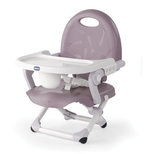 Chicco PocketSnack Booster Seat - Lavender - for at home or on the go