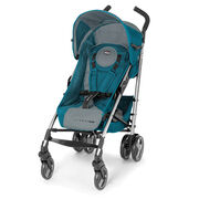 Chicco Liteway Plus Stroller in deep turquoise and dark gray - Polaris