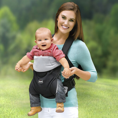 Older babies can face outward in the Close To You Baby Carrier to explore the world