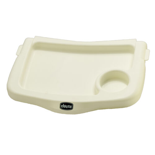 Replacement white tray for Chicco 360 Hook-On Chair