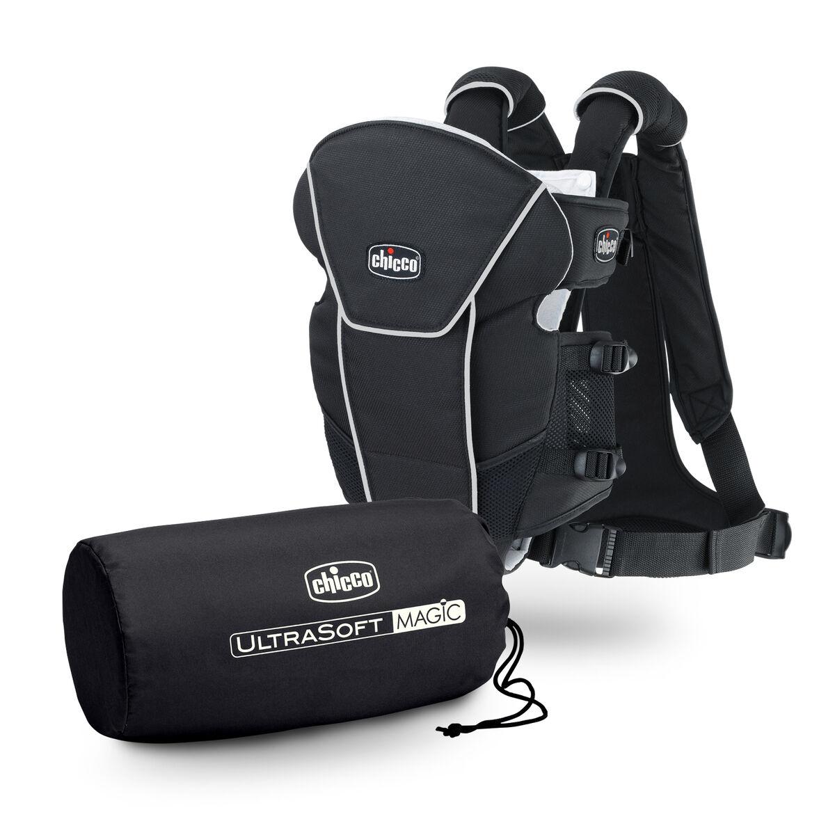 Chicco Ultrasoft Magic Infant Carrier Black