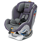 Chicco NextFit Convertible Car Seat in dusty light plum color with light grey - Gemini