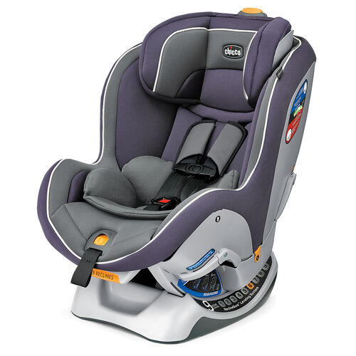 Chicco NextFit Convertible Car Seat Gemini - dusty light plum color with light grey
