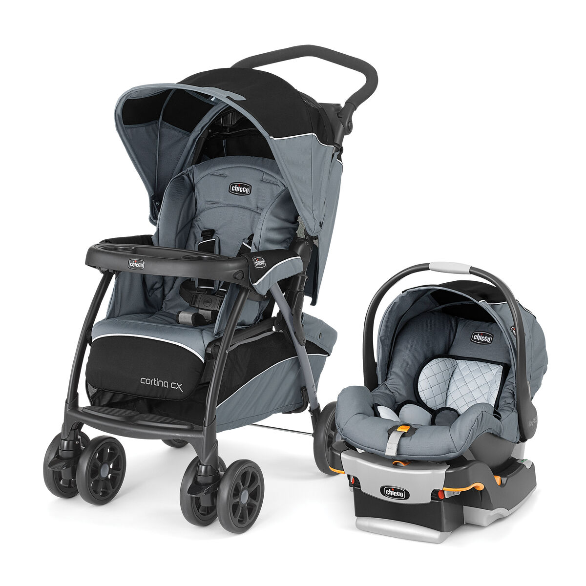 Chicco Chicco Cortina Cx Travel System Iron