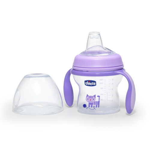 Purple NaturalFit Transition Cup with Lid