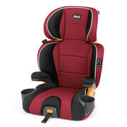 KidFit 2-in-1 Belt Positioning Booster Car Seat - Paprika in