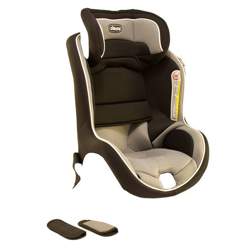 Chicco NextFit Convertible Car Seat Replacement Seat Cover, Head Rest, and Shoulder Pads - Intrigue