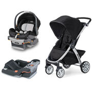 Ombra KeyFit Infant Car Seat + Bravo Stroller Bundle - FREE Base in