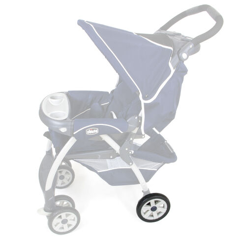 Rear wheel location on Chicco Cortina Stroller