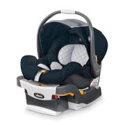 The top rated infant car seat features ESP energy-absorbing foam, 5 point harness, and easy one-hand removal