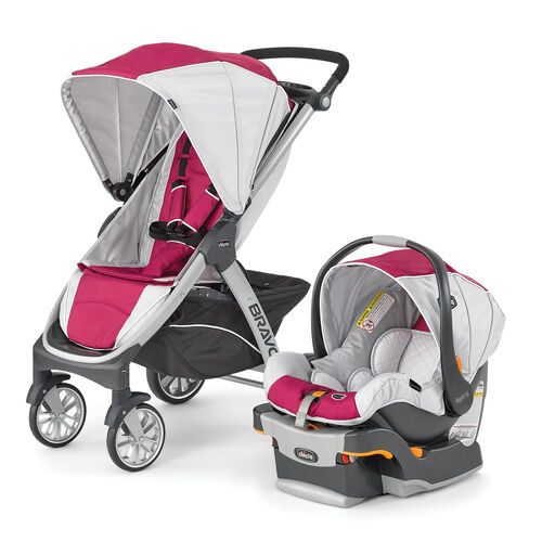 chicco chicco bravo trio travel system stroller orchid. Black Bedroom Furniture Sets. Home Design Ideas