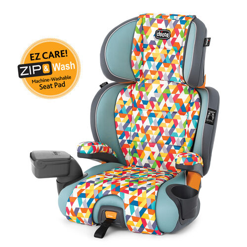 KidFit Zip 2-in-1 Belt Positioning Booster Car Seat - Wild in