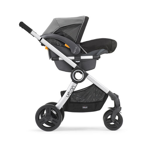 Urban Stroller in KeyFit 30 Carrier Mode - Outward Facing