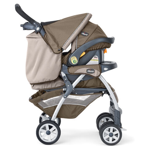 Cortina SE Travel System with KeyFit 30 Infant Car Seat Inserted