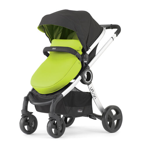 Chicco Urban Stroller with Green Color Pack and All-Weather Boot