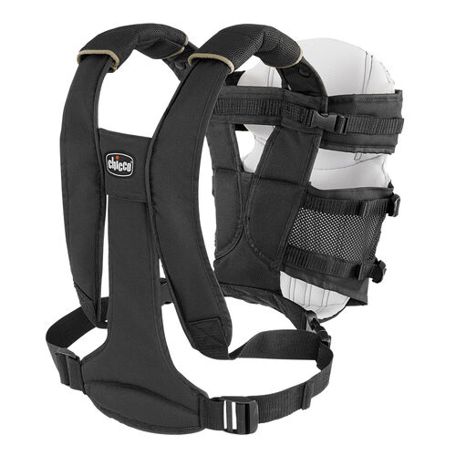 The padded shoulder straps and lumbar support provide additional comfort