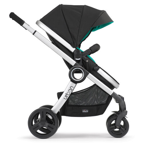 Chicco Urban 6-in-1 Modular Stroller in forward-facing toddler stroller mode