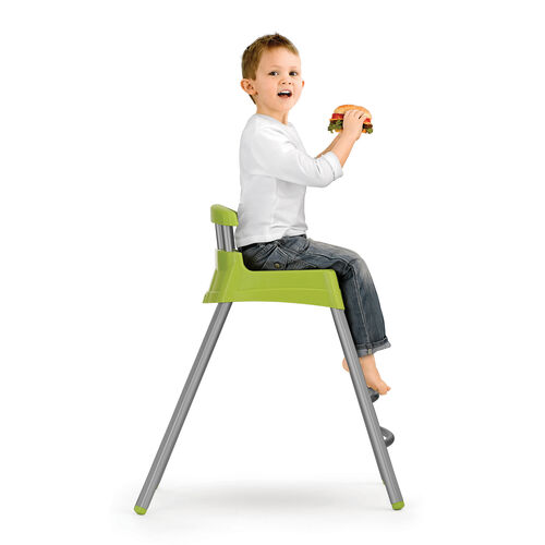 When your child outgrows the booster, turn the Stack 3-in-1 highchair into a stool that's the perfect size for your child