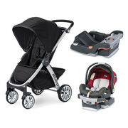 Mix Match KeyFit Infant Car Seat & Bravo Stroller Bundle - FREE Base in