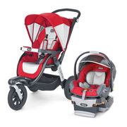 Snapdragon - Activ3 Jogging Stroller + FREE KeyFit 30 Infant Car Seat in